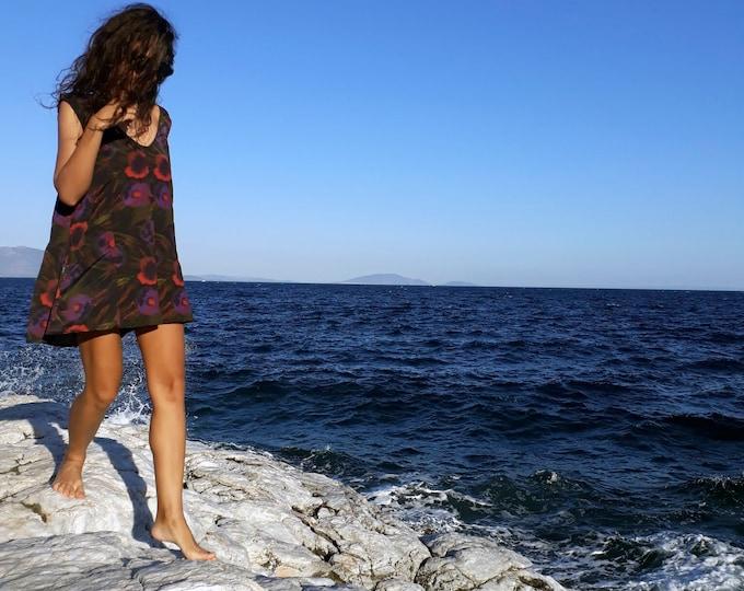 31 Beach Street | Flowerescent Adolescent | Après-surf Beachwear Playsuit | Summer Romper