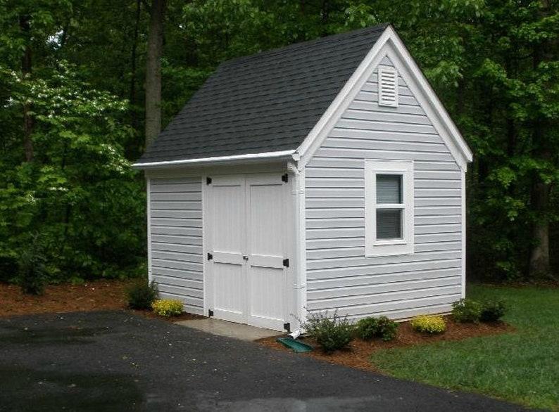 5 Mini-Barn Plans Customizable Little Pole-Barn Blueprints ...