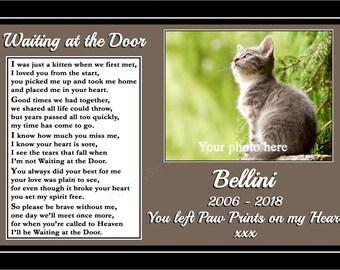 Cat Memorial Etsy