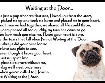 pug poems pug poem etsy 2263