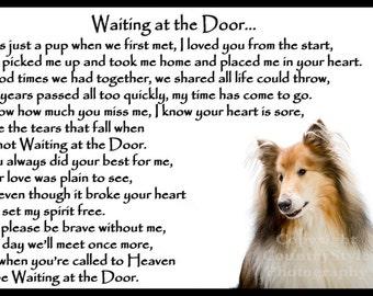 Shih Tzu Dog Pet Loss Memorial Bereavement Fridge Magnet ...