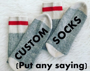Custom Men's Socks, If You Can Read This Socks, Wine Socks, Stocking Stuffers Funny Christmas Gift Birthday Present, Wine Socks Bring