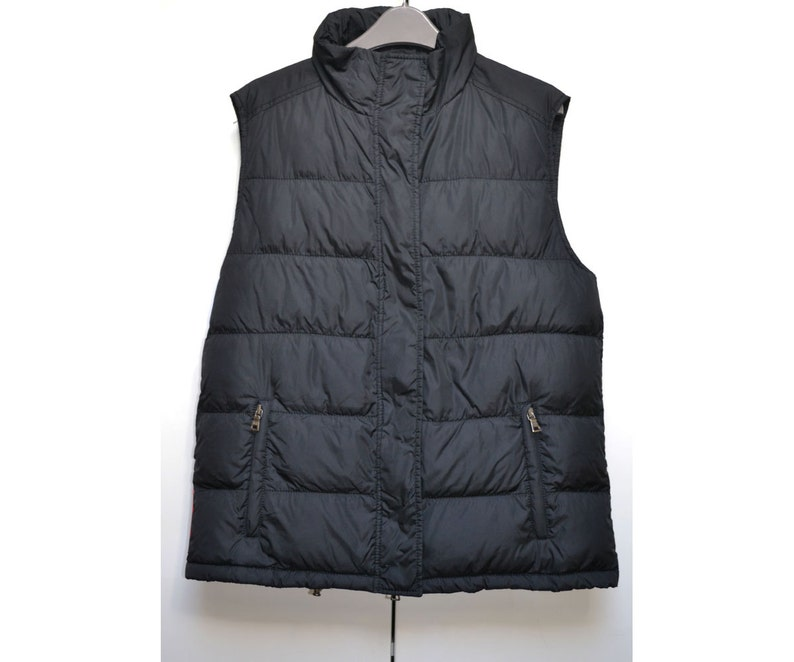6140f8a313483 FREE Ship Prada Ladies Hooded Gilet Bodywarmer Jacket Padded Quilted  Designer Size Sz S Small UK 12 / Eu 40 / Ger 38 / Us 8