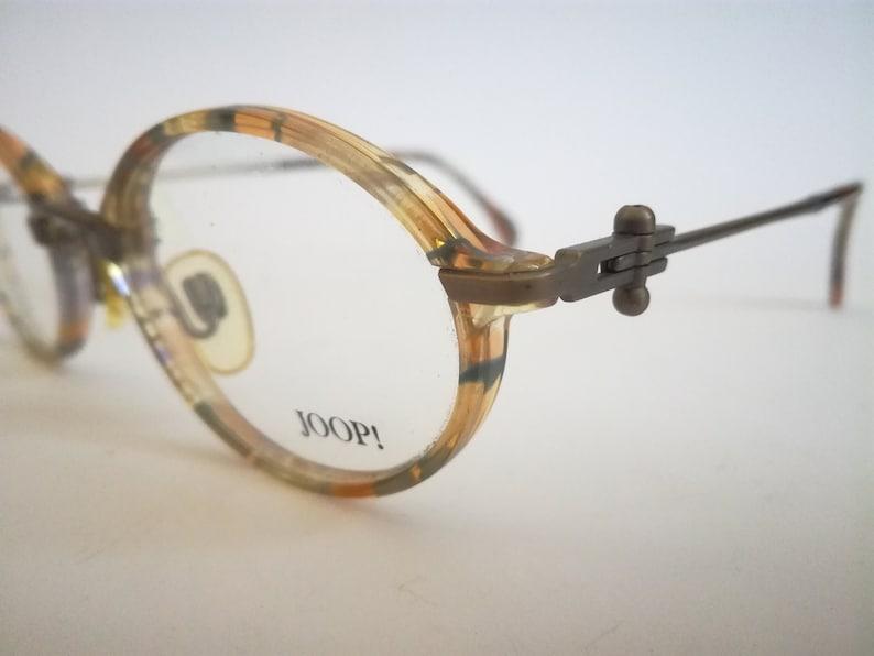 8228-700 Round Steampunk Eyeglasses NOS Joop Italy