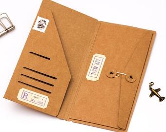 Shirt kraft Pocket Regular size fauxdori, midori traveler journal