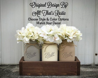 Mason Jar Decor Etsy