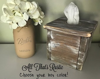 Rustic Tissue Box, Rustic Tissue Box Cover, Tissue Box Cover, Wood Tissue Box, Rustic Home Decor, Rustic Decor, Tissue Box, Rustic Box, Gift