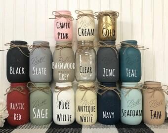 ADD-ON Mason Jar, Mason Jars, Mason Jar Decor, Mason Jars, Mason Jar Vase, Mason Jar Bulks, Bulk Mason Jars, Jars, Painted Mason Jars