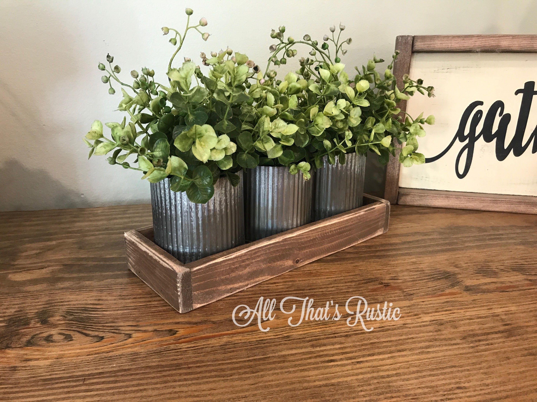 Norah Zinc Vases Rustic Metal Decor Rustic Home Decor