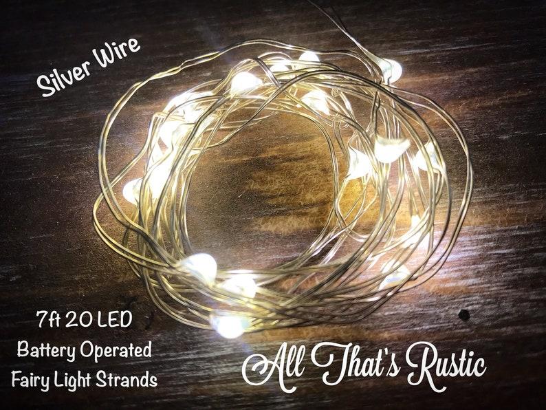 best service 5e8ed e0740 Mason Jar Fairy Lights, Fairy Lights, String Lights, Battery Operated  Lights, Lights, Mason Jar Decor, Wedding Centerpiece, LED Lights