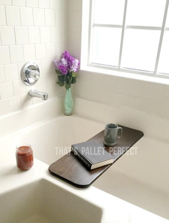 Rustic Bathtub Tray Bath Board Bathtub Caddy Bath Tub | Etsy
