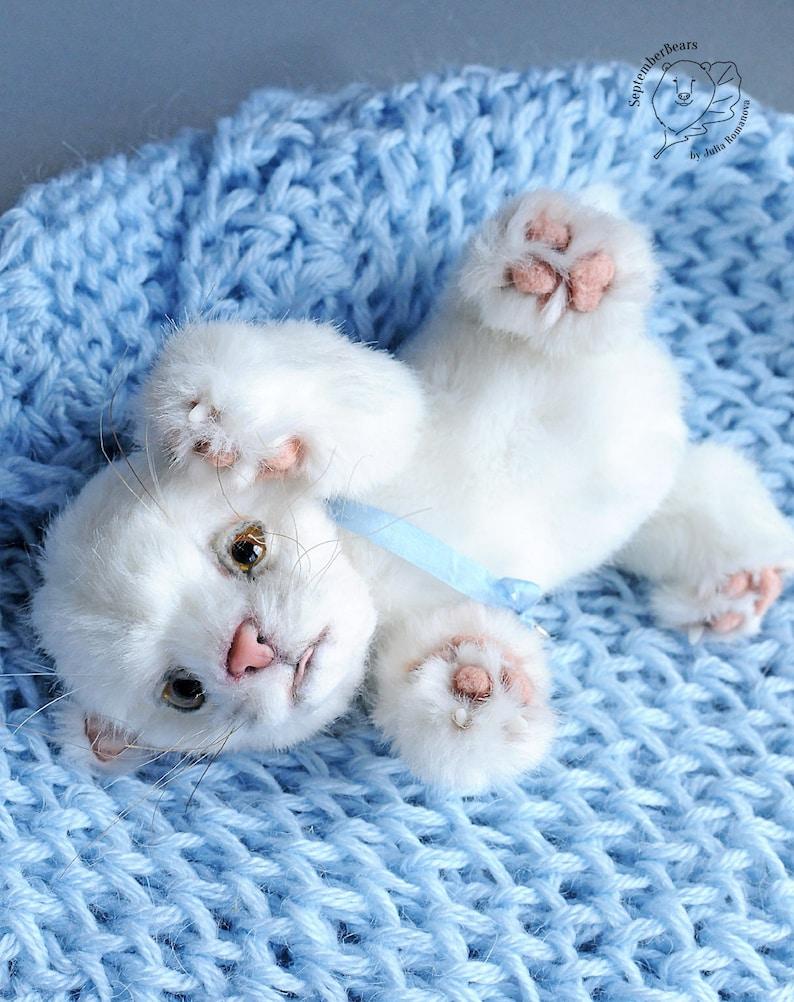 realistic toy kitten OOAK cat Pet portrait Marquise