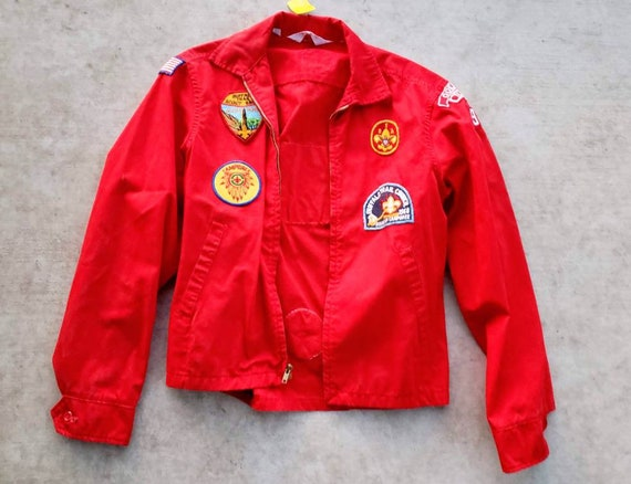 1960-1970's Vintage Boy Scout Jacket with Patches