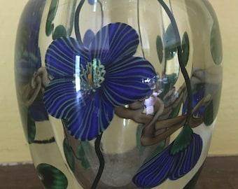 Steven Lundberg studio Glass Paperwieght Vase