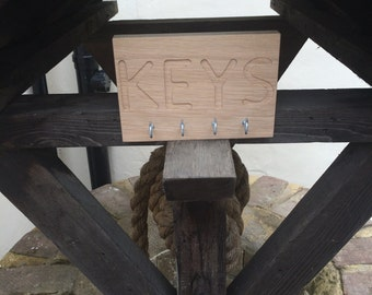 Oak Key Holder
