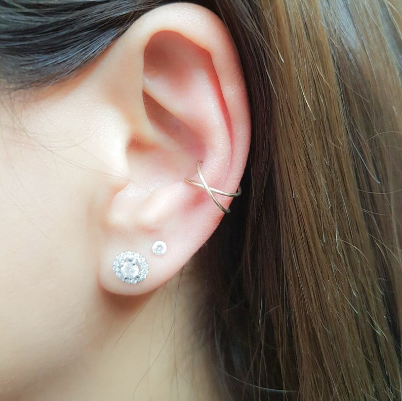 Ear Cuff Ear Cuffs No Piercing Ear Cuff Non Pierced Ear image 0