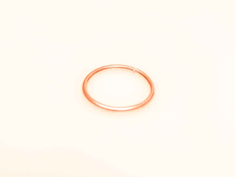Helix piercing Rose Gold Helix SALE Gold Helix jewelry Helix Earring Cartilage Helix Earring Hoop Cartilage Piercing Ear Piercing