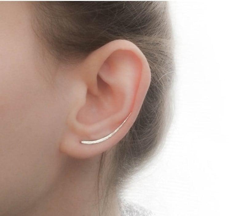 725f08184d588 SALE Ear Climber Earrings Long Ear Climber Silver Ear | Etsy