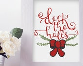 Deck the Halls - SVG, PNG...