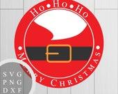 Ho Ho Ho Santa - SVG, PNG...