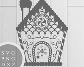 Gingerbread House - SVG, ...