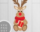 Rudolph Reindeer - SVG, P...