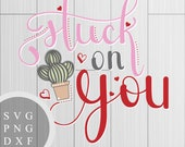 Stuck on You - SVG, PNG a...