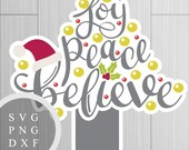 Joy, Peace, Believe Chris...