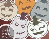 Jack O Lanterns Set - SVG...