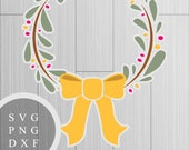Holiday Wreath - SVG, PNG...