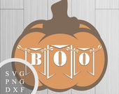 Boo Jack O Lantern - SVG,...