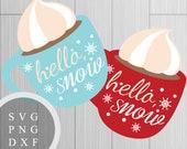 Hello Snow Cocoa Cup Desi...