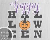 Happy Halloween - SVG, PN...