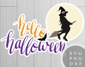 Hello Halloween - SVG, PN...