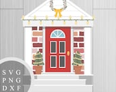 SVG Christmas House + PNG...