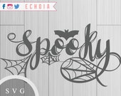 Spooky SVG, PNG and DXF F...