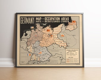 Germany Map Before Wwii.Map Of D Day Normandy World War Ii Map Historic Reproduction Map Etsy