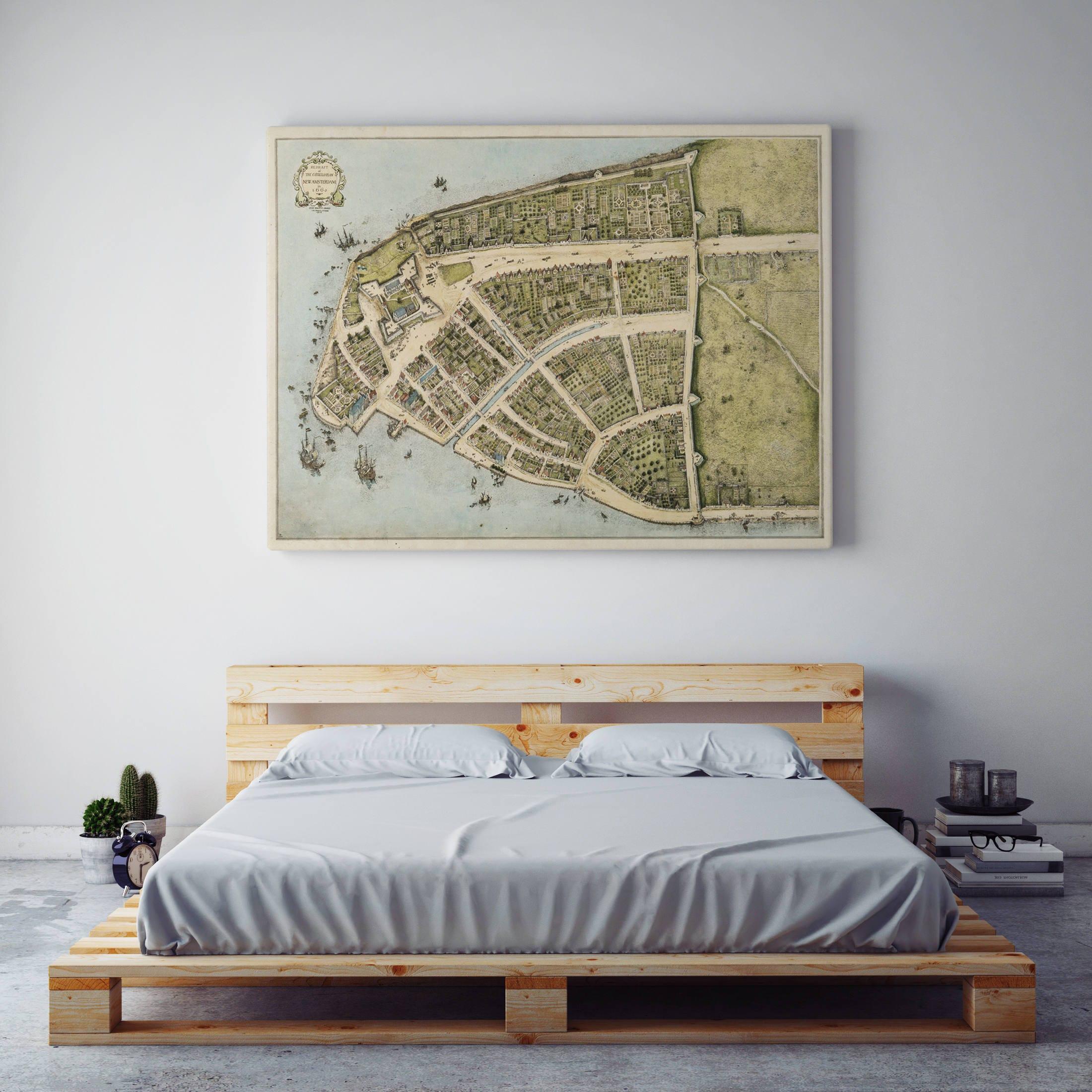 Alte Karte von Manhattan Stadtplan New York City Manhattan | Etsy