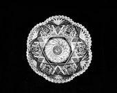 American Brilliant Cut Glass, Deep, Thick Serving Bowl, circa 1880 39 s, ABP-bowl 14