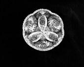 American Brilliant Cut Glass Thick, Deep 8 quot Serving Bowl, circa 1880 39 s, ABP-bowl 5