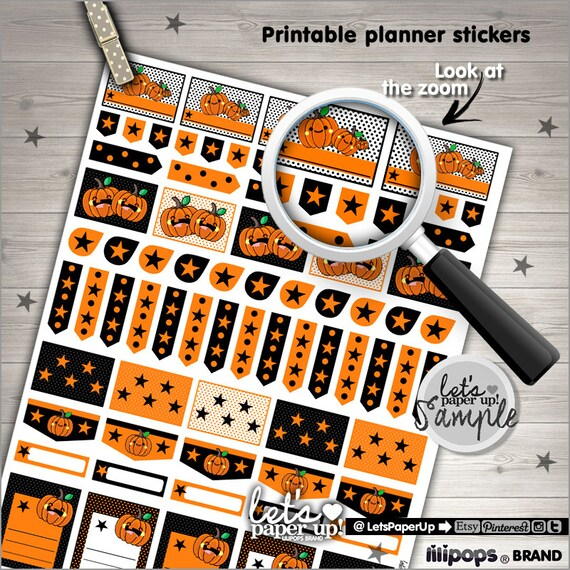 photo relating to Halloween Stickers Printable identify Halloween Stickers, Printable Stickers, Pumpkin Stickers