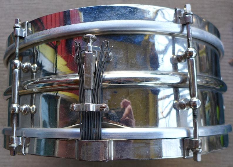 Vintage Ludwig Snare Drum, 1910s, Brass Shell, Vintage Drum, Ludwig Drums