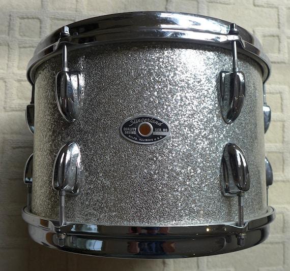 Slingerland Vintage 1970/'s Bass Drum T Rods Set of 10  GREAT CONDITION !!!