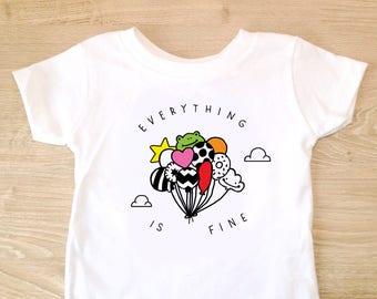 Float Away Toddler Shirt