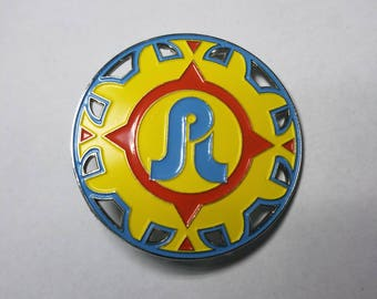 Pretty Lights Sundial Pin