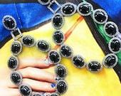 New KC JAT Designs Black Onyx Earrings