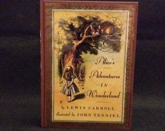 Alice's Adventures in Wonderland  -  wood stash box