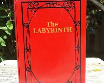 The Labyrinth - Wood stash box
