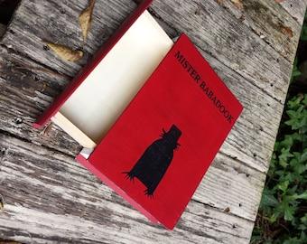 Mister Babadook  - Wood stash box