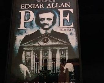 Edgar Allan Poe -  wood stash box